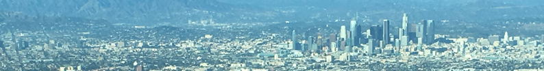 Arial view of Los Angeles