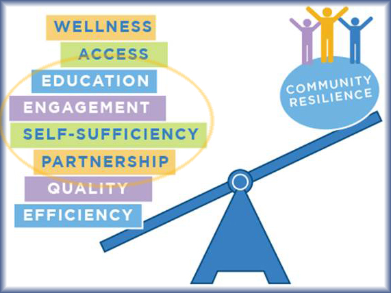 4 levers of community resilience